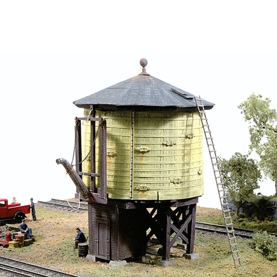 HOn3 Gauge: Denver & Rio Grande Western Water Tower - Kit