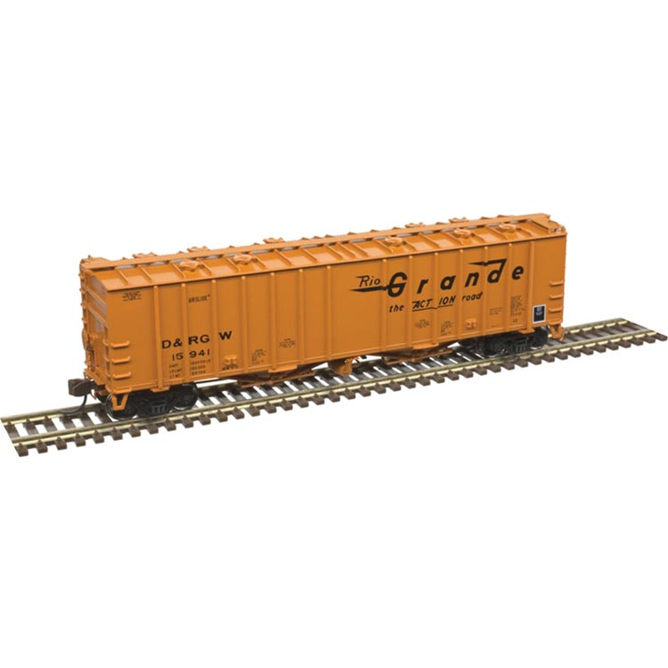 N Scale: 4180 Airslide Covered Hopper - Denver & Rio Grande Western