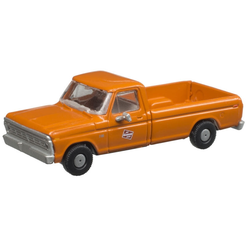 N Scale: 1973 Ford F-100 Pickup Truck - MILW - 2 Pack