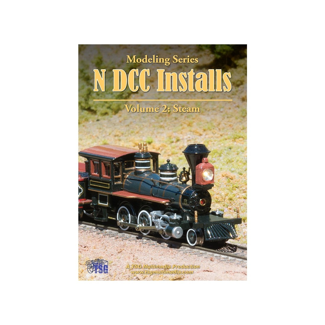DVD: Modeling Series - N Scale DCC Installs - Volume 2 'Steam'