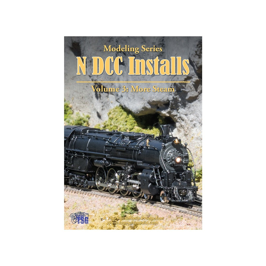 DVD: Modeling Series - N Scale DCC Installs - Volume 3 'More Steam'