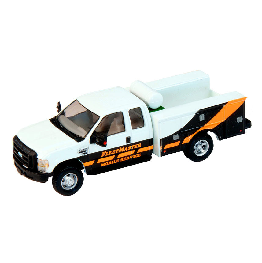 HO Scale: Ford F-450 Super Cab Fleet Service Truck - FleetMaster