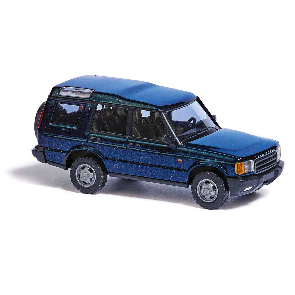 HO Scale: Land Rover Discovery - Metallic Blue
