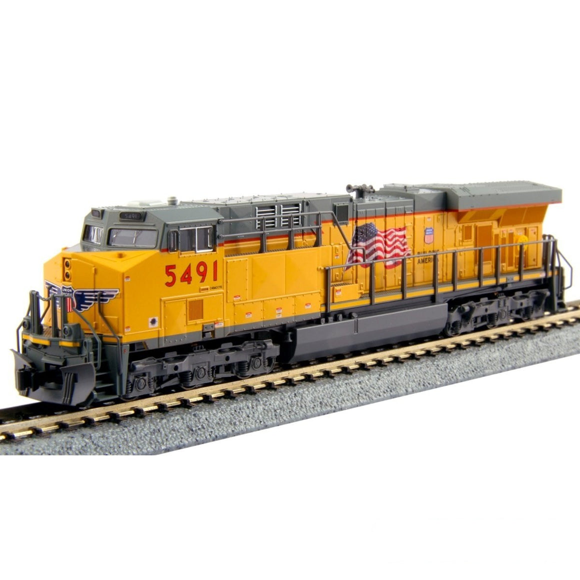 N Scale: GE ES44AC - DCC Ready - Union Pacific