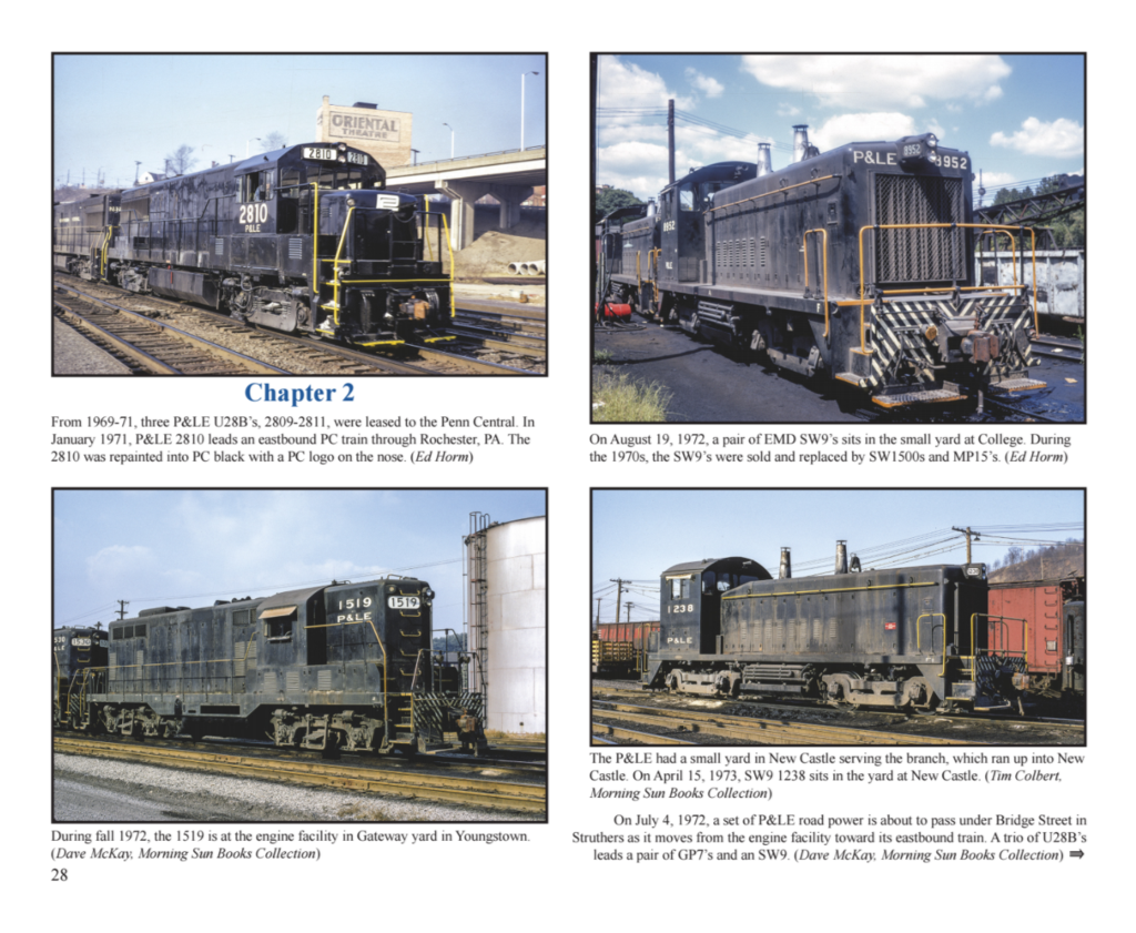 Books: Pittsburgh & Lake Erie Railroad - The Last 30 Years