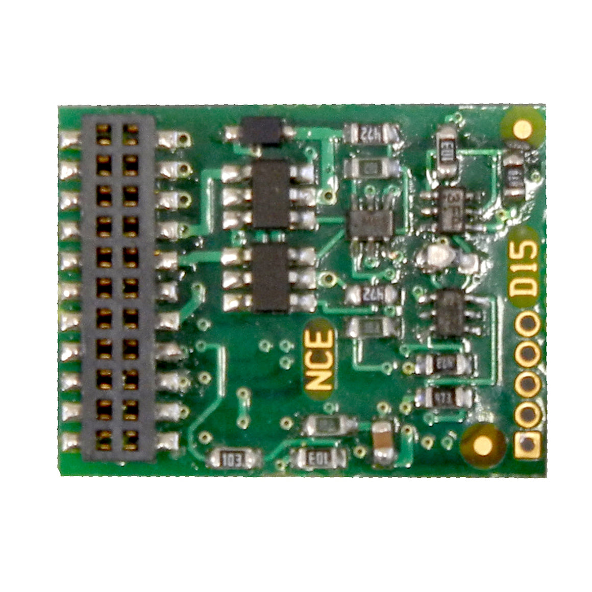 Decoder: D16MTC 21 Pin decoder - fits most new Athearn Locomotives