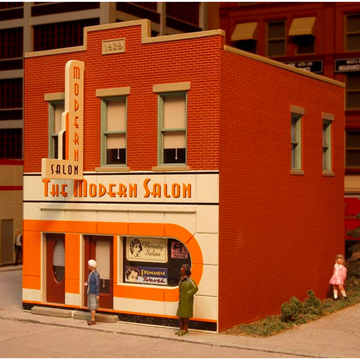 HO Scale: South Side Salon - Kit