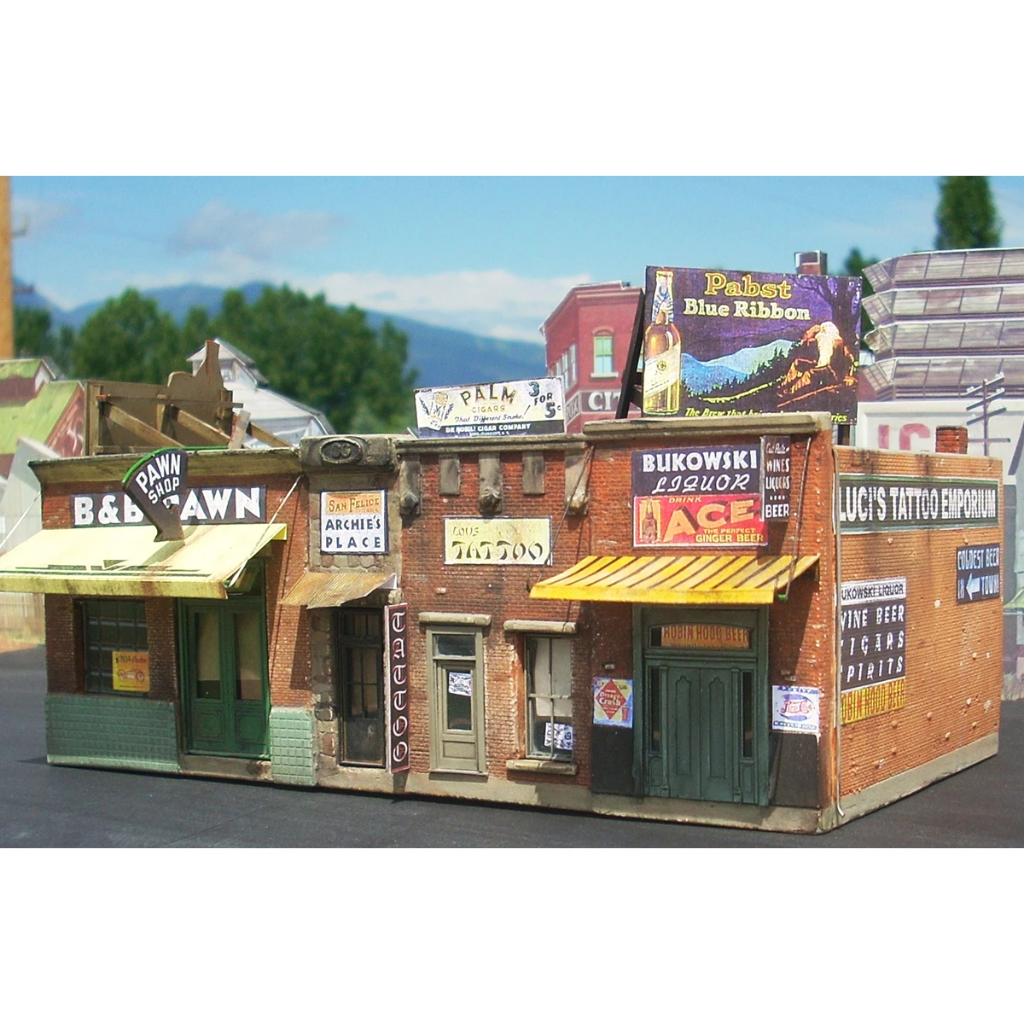 N Scale: Addam's Ave. Part I