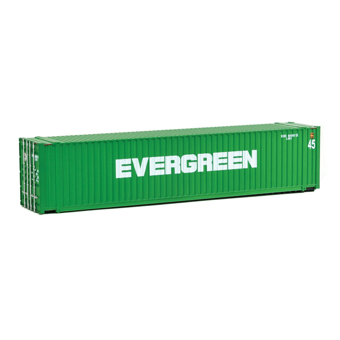 HO Scale: 45' CIMC Container - Evergreen