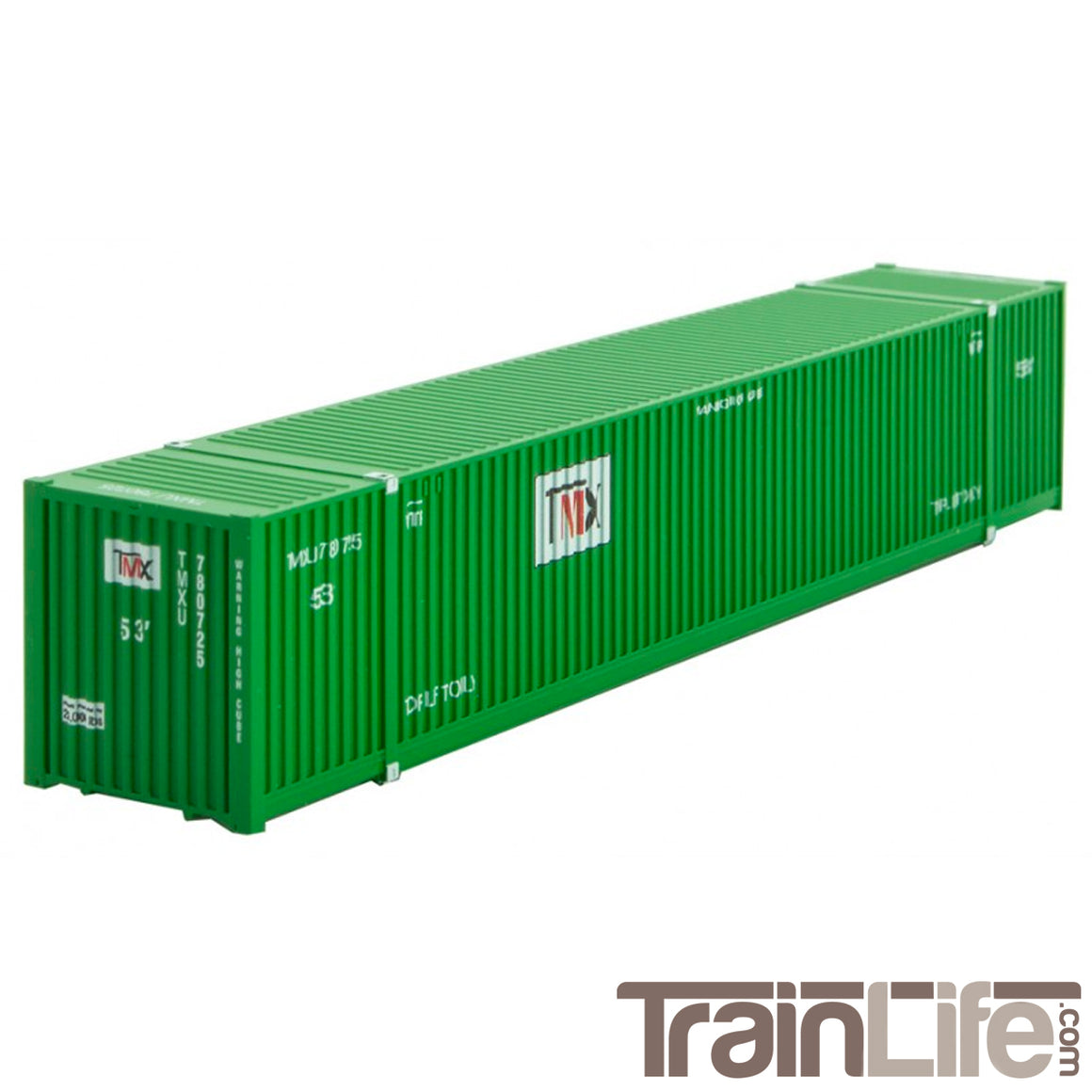 N Scale: 53' Shipping Container - TMX