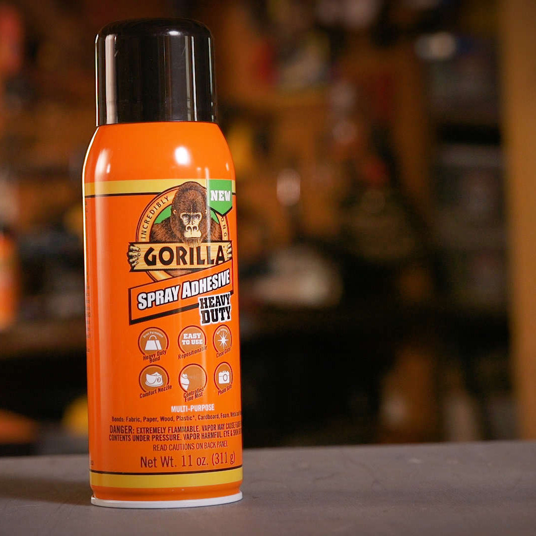 Gorilla Glue: Spray Adhesive