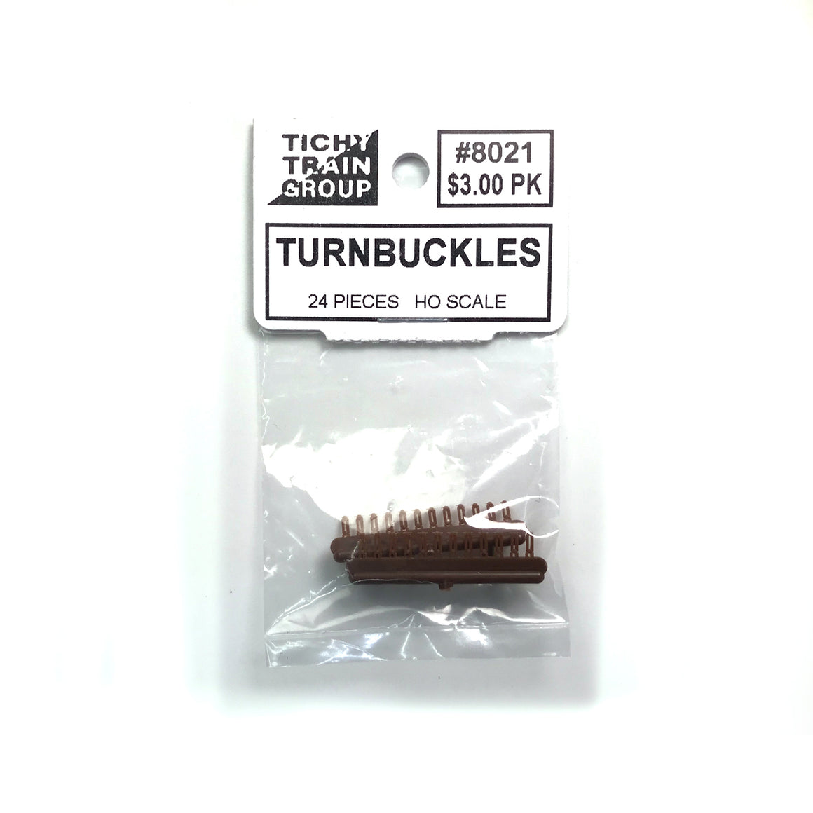 HO Scale: Turnbuckles