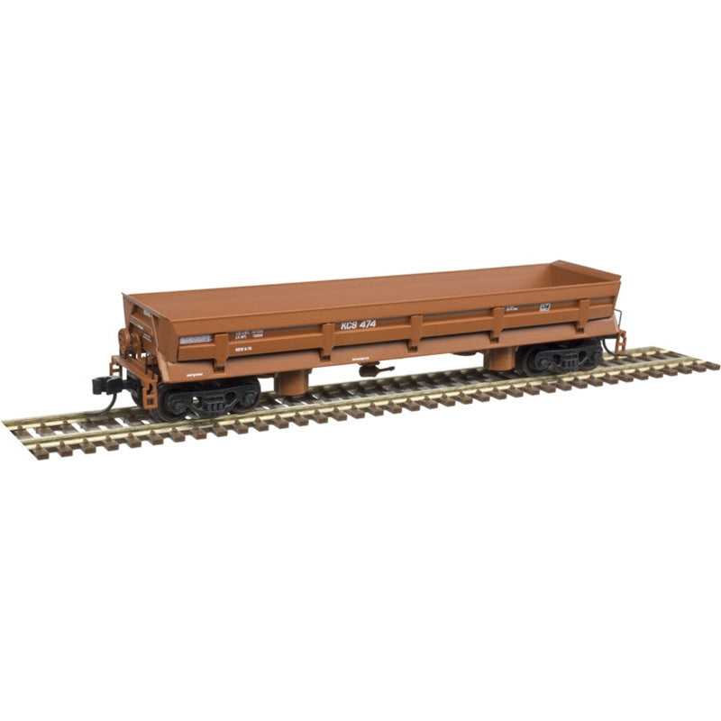 N Scale: Difco Side Dump Car - Kansas City Southern