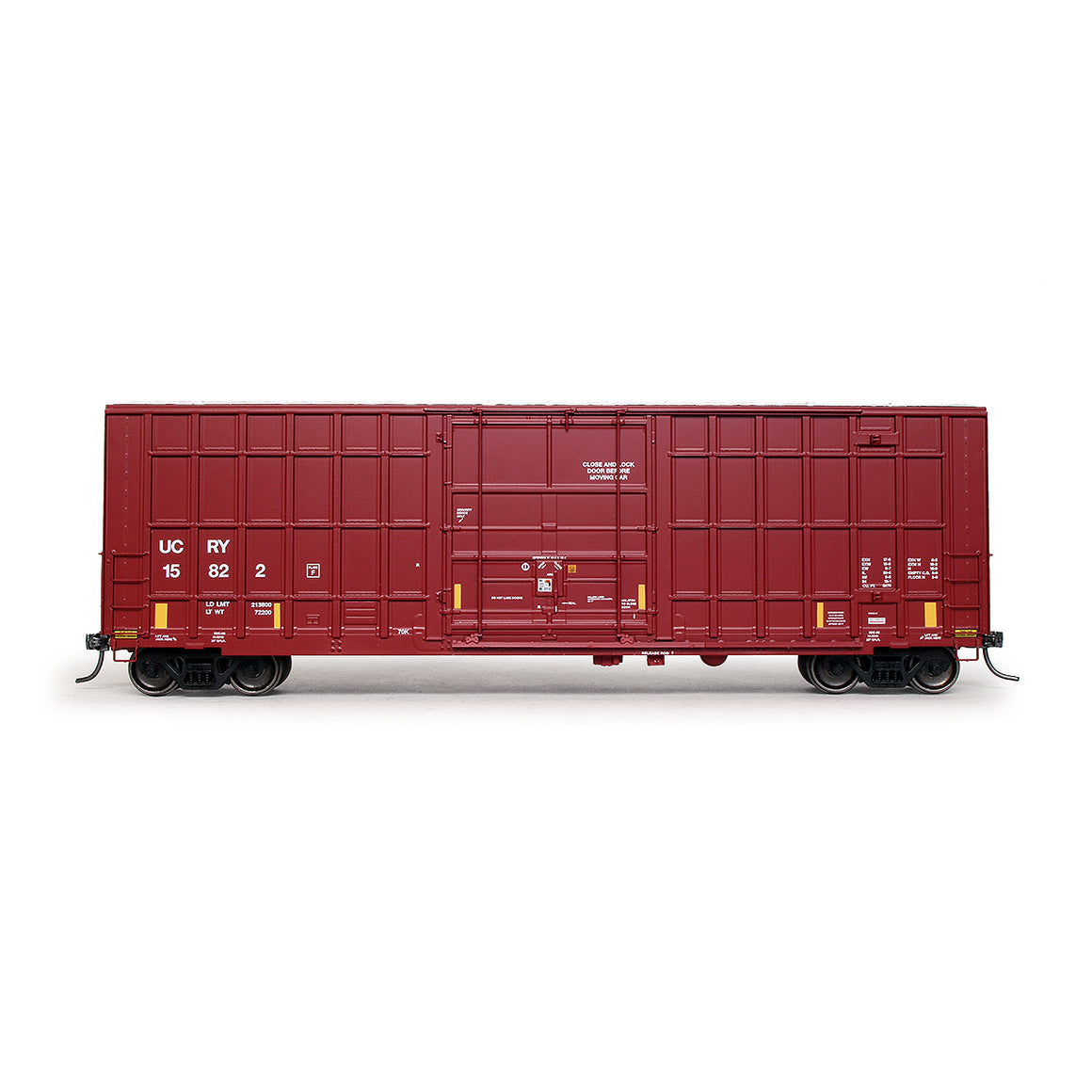 HO Scale: Trinity 6275 Boxcar - Utah Central Railway - '2017 As-Delivered'