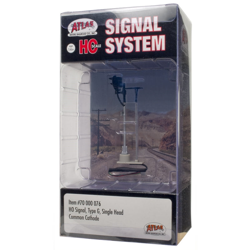 HO Scale: Type G Signal - Single Head