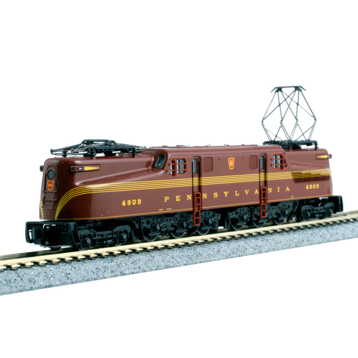 N Scale: GG1 Electric - DCC-Ready - PRR Tuscan Red