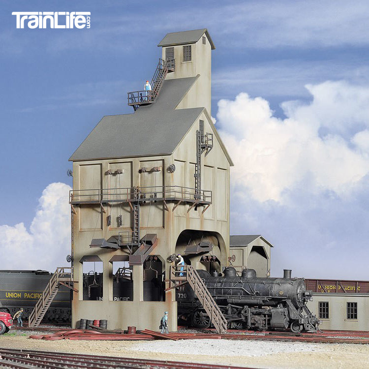 HO Scale: Modern Coaling Tower - Kit