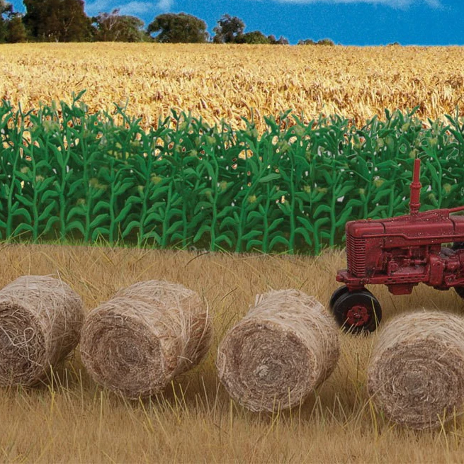 HO Scale: Round Hay Bales - 20 Pack
