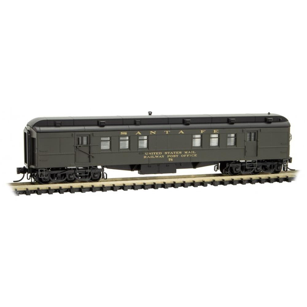 N Scale: RPO Heavyweight Passenger Car - ATSF