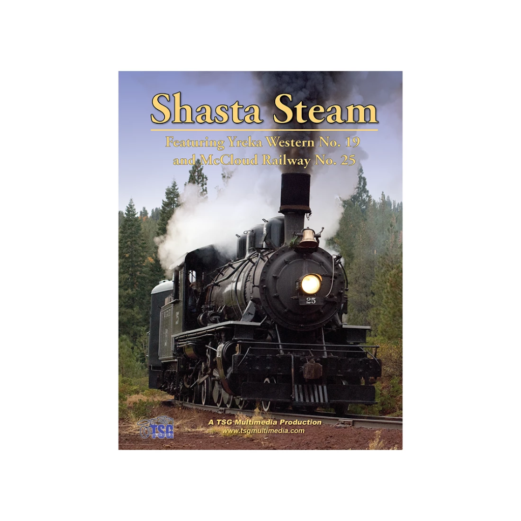 DVD: Shasta Steam