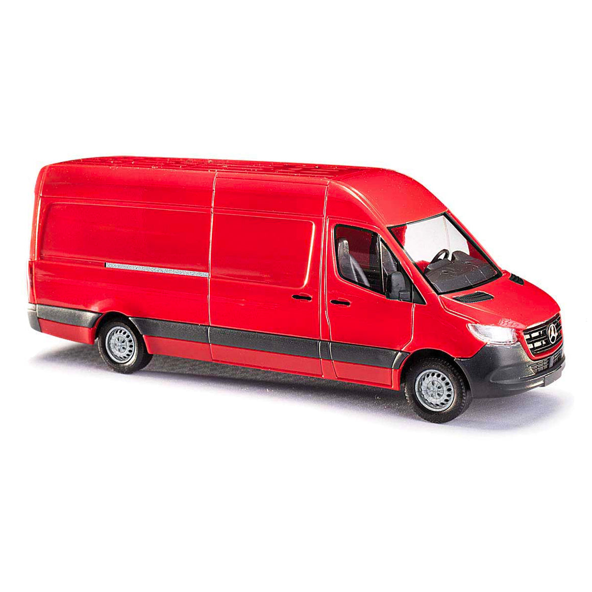 HO Scale: Mercedes Benz Sprinter Van - Red