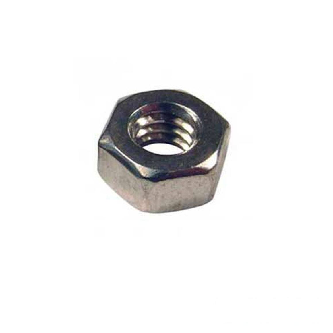 0-80 Stainless Steel Nuts