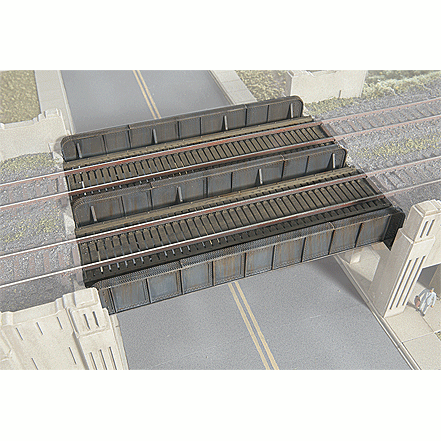 N Scale: Through Plate-Girder Bridge - Kit