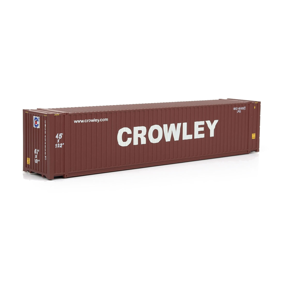 HO Scale: 45' CIMC Container - Crowley