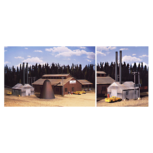 HO Scale: Mountain Lumber Company Sawmill - Kit