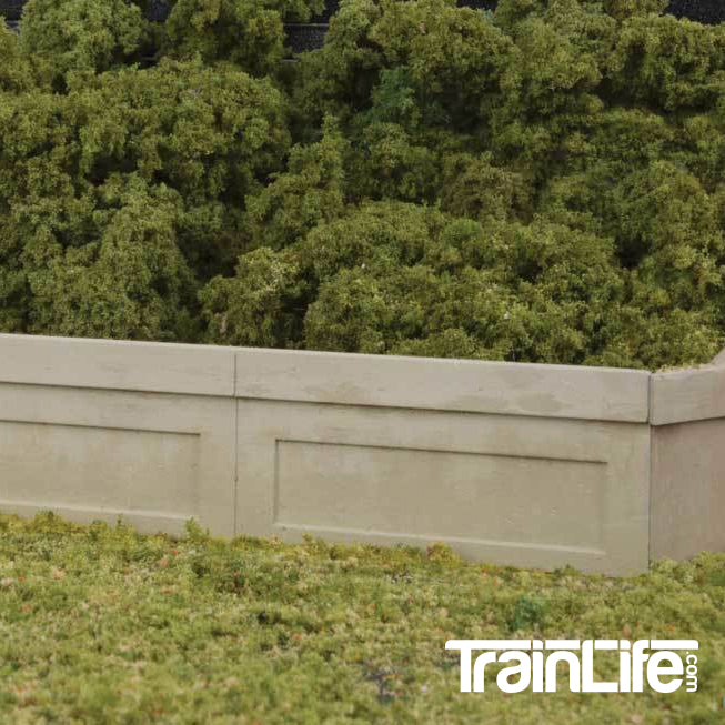HO Scale: Urban Retaining Walls - Kit