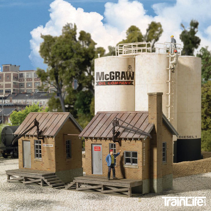 HO Scale: McGraw Oil Company - Kit