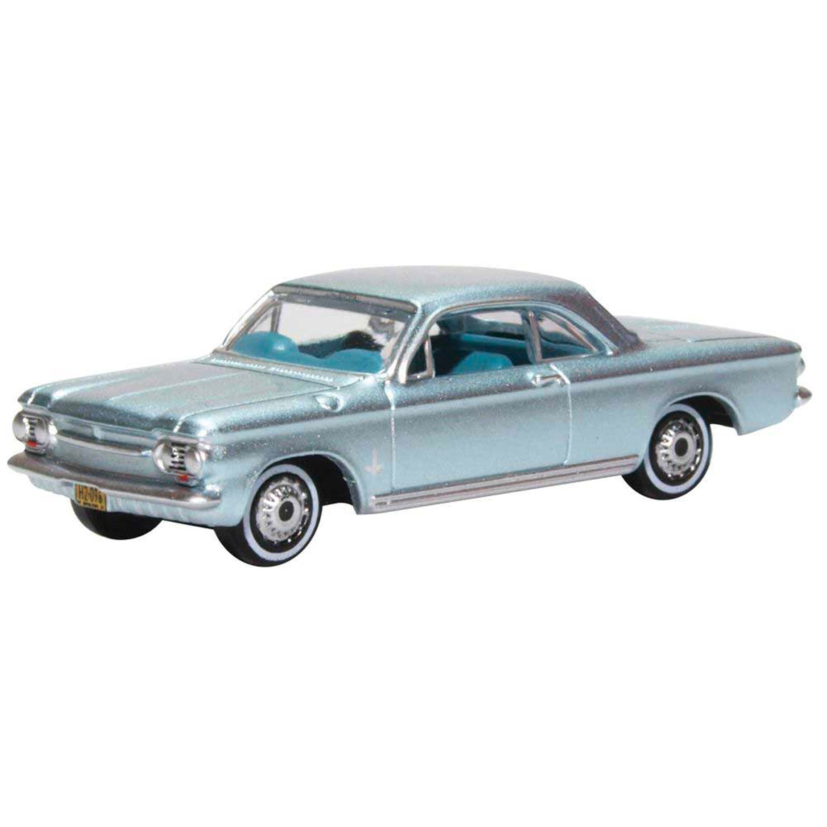 HO Scale: 1963 Chevrolet Corvair Coupe - Satin Silver