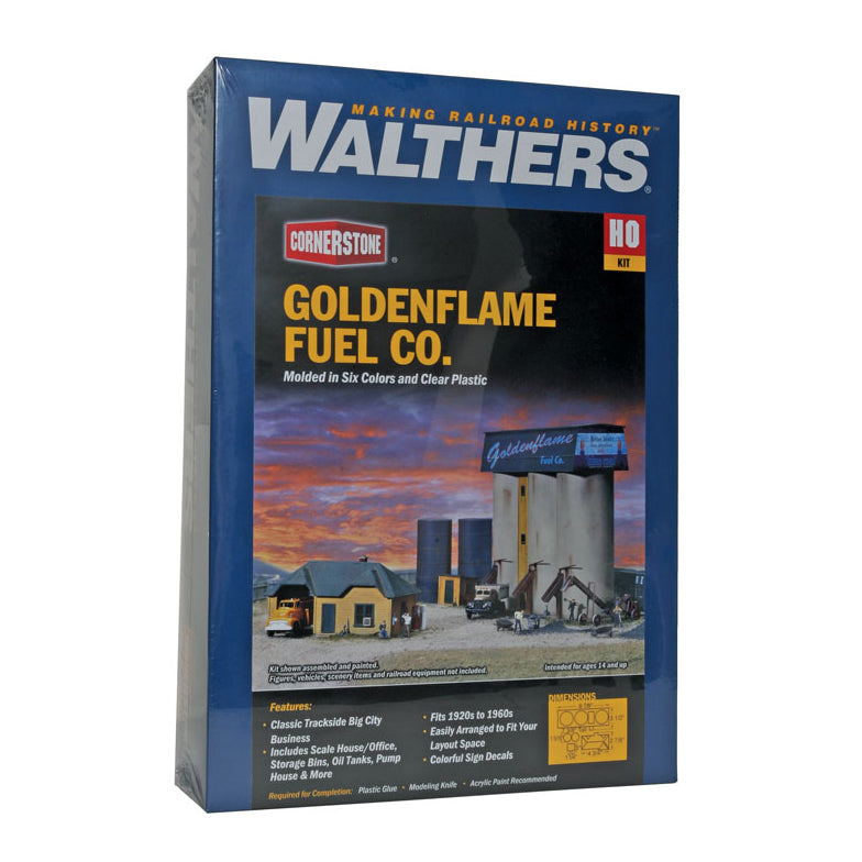 HO Scale: Goldenflame Fuel Co.