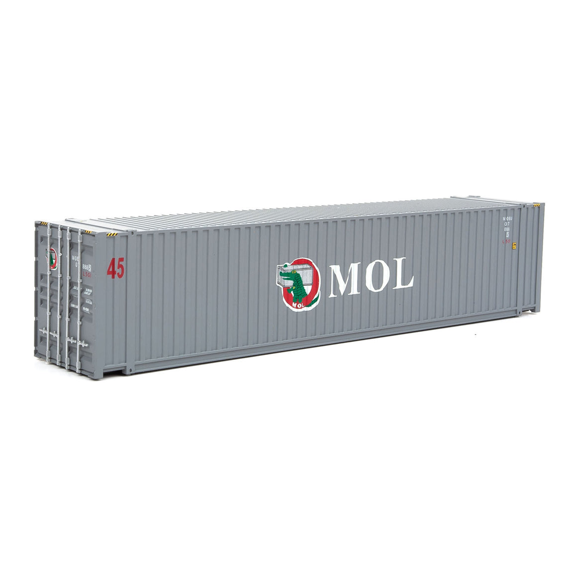 HO Scale: 45' CIMC Container - Mitsui OSK