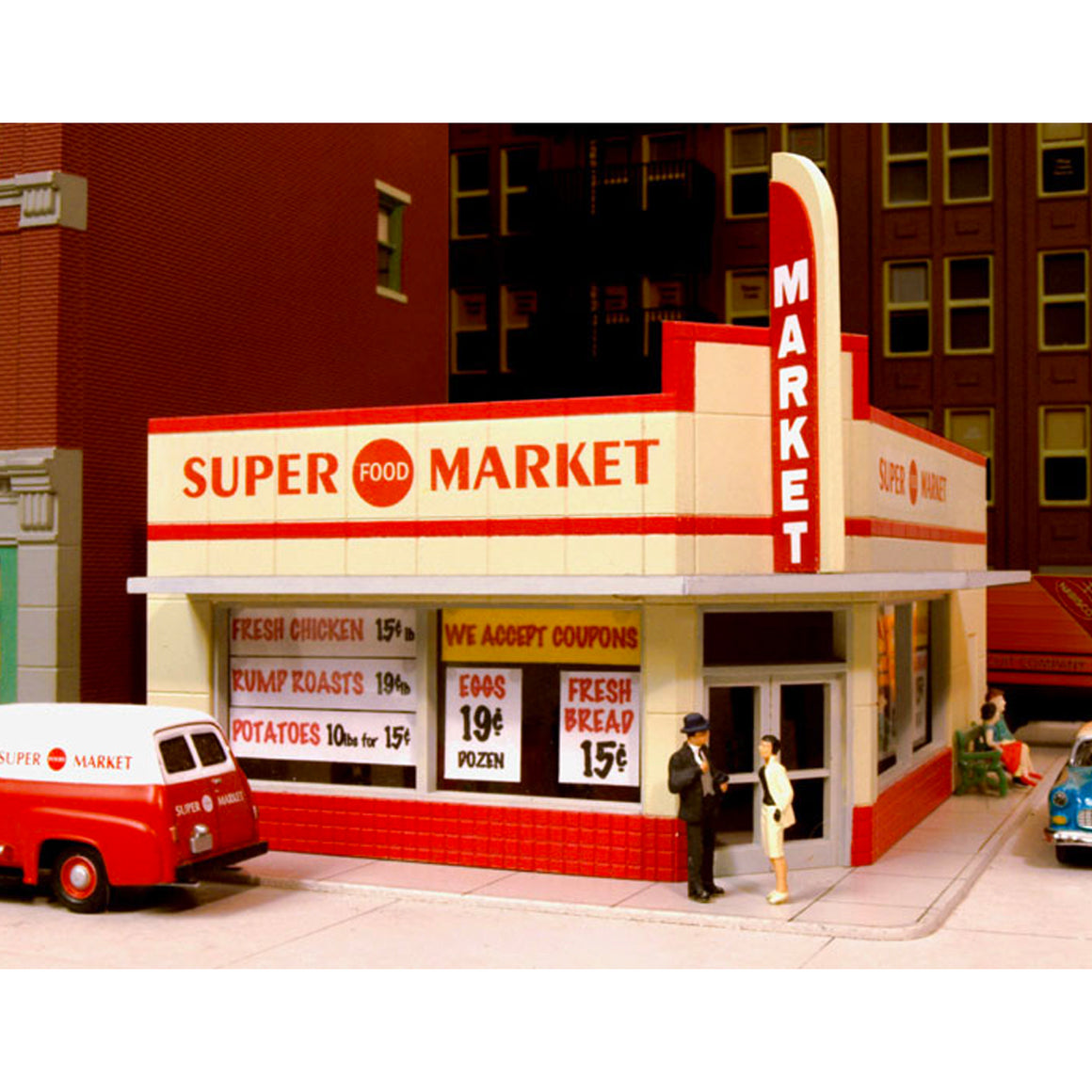 HO Scale: West End Market