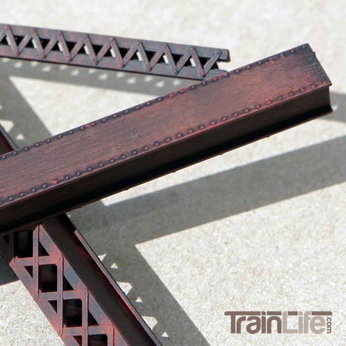 HO Scale: Heavy Duty Laced Box Girders