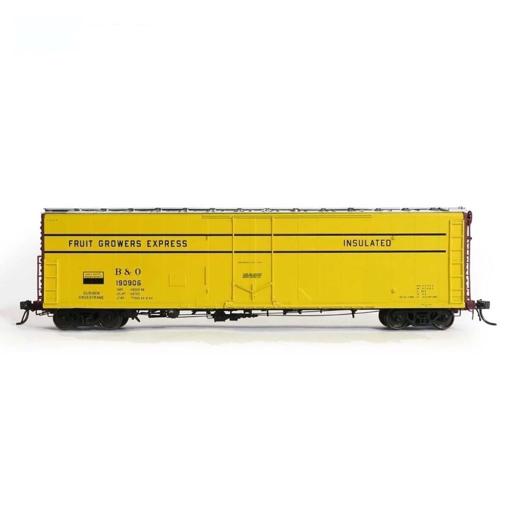 HO Scale: FGE Plate B Insulated Boxcar - B&O