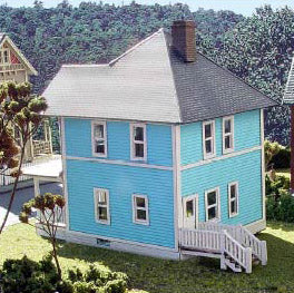HO Scale: The Whitehall Catalog House - Kit