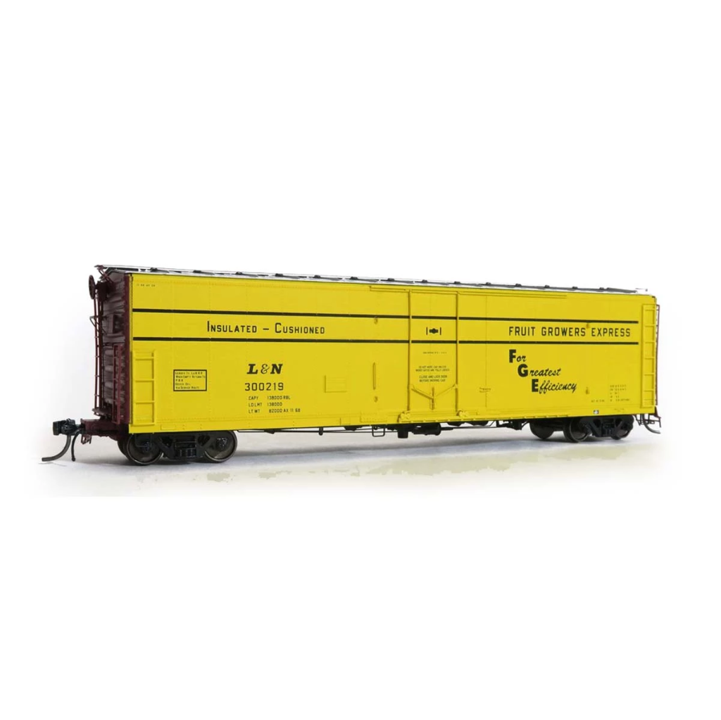 HO Scale: FGE Plate B Insulated Boxcar - L&N