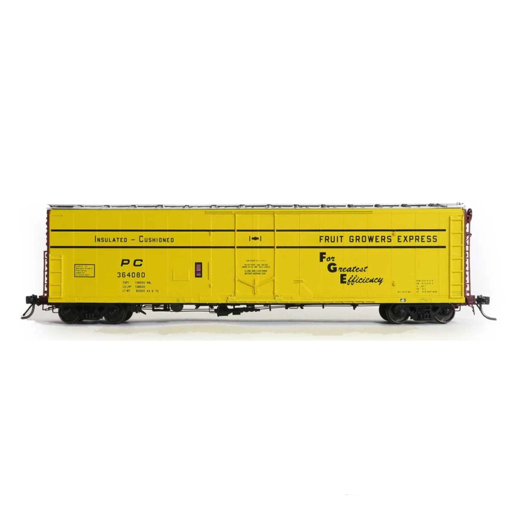 HO Scale: FGE Plate B Insulated Boxcar - Penn Central