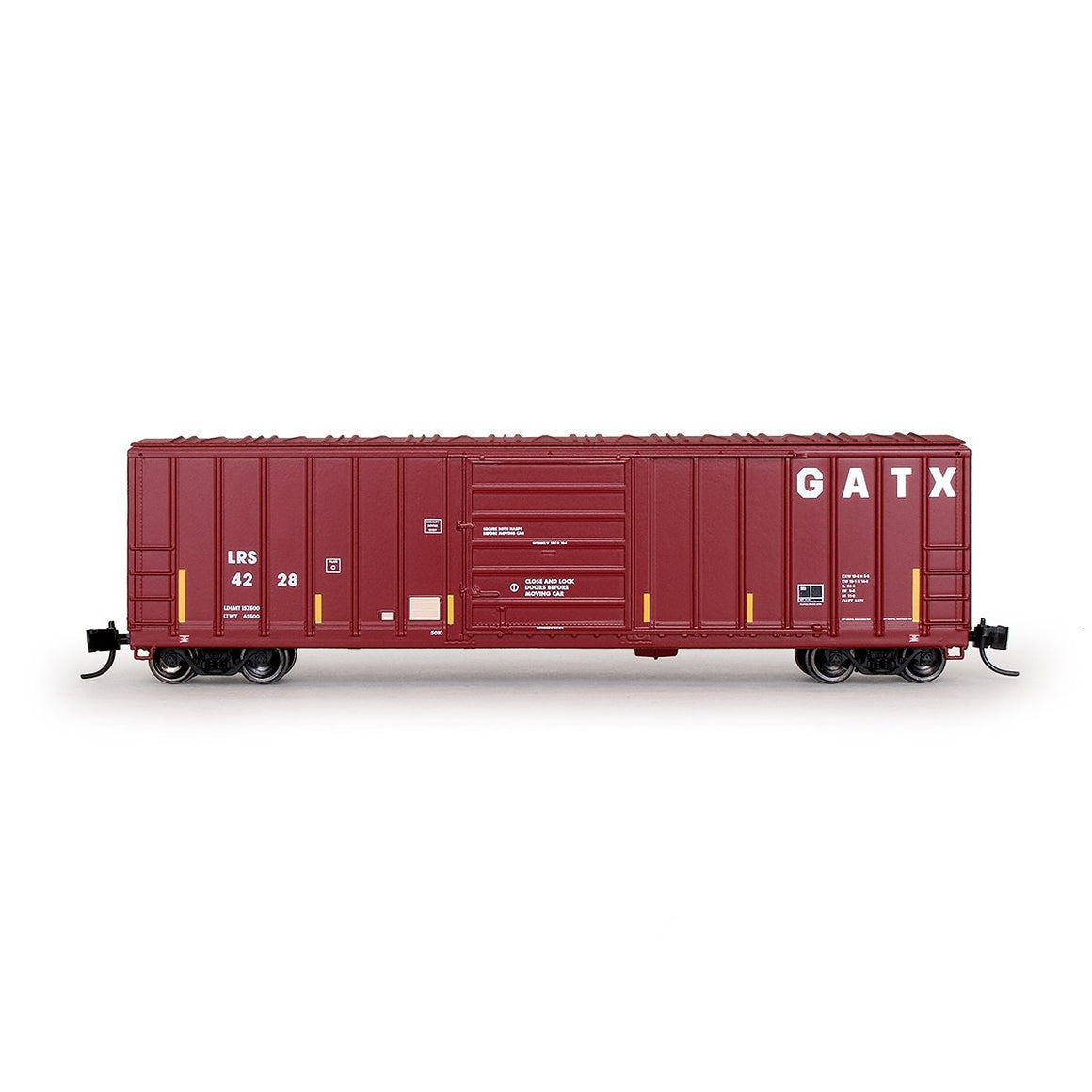N Scale: Evans 5277 Boxcar - Laurinburg & Southern 'GATX'