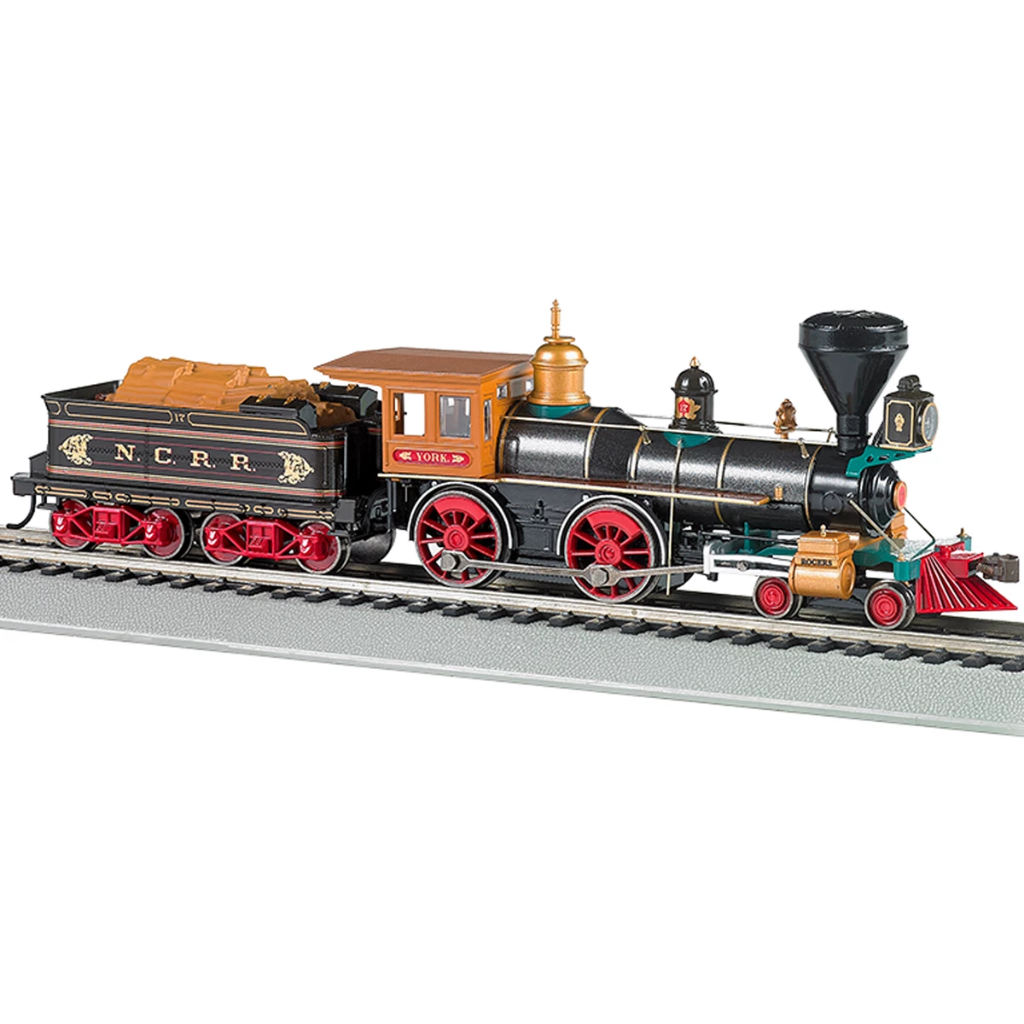 HO Scale: American 4-4-0 Steam Locomotive - DCC & Sound - Northern Central Railroad 'York'