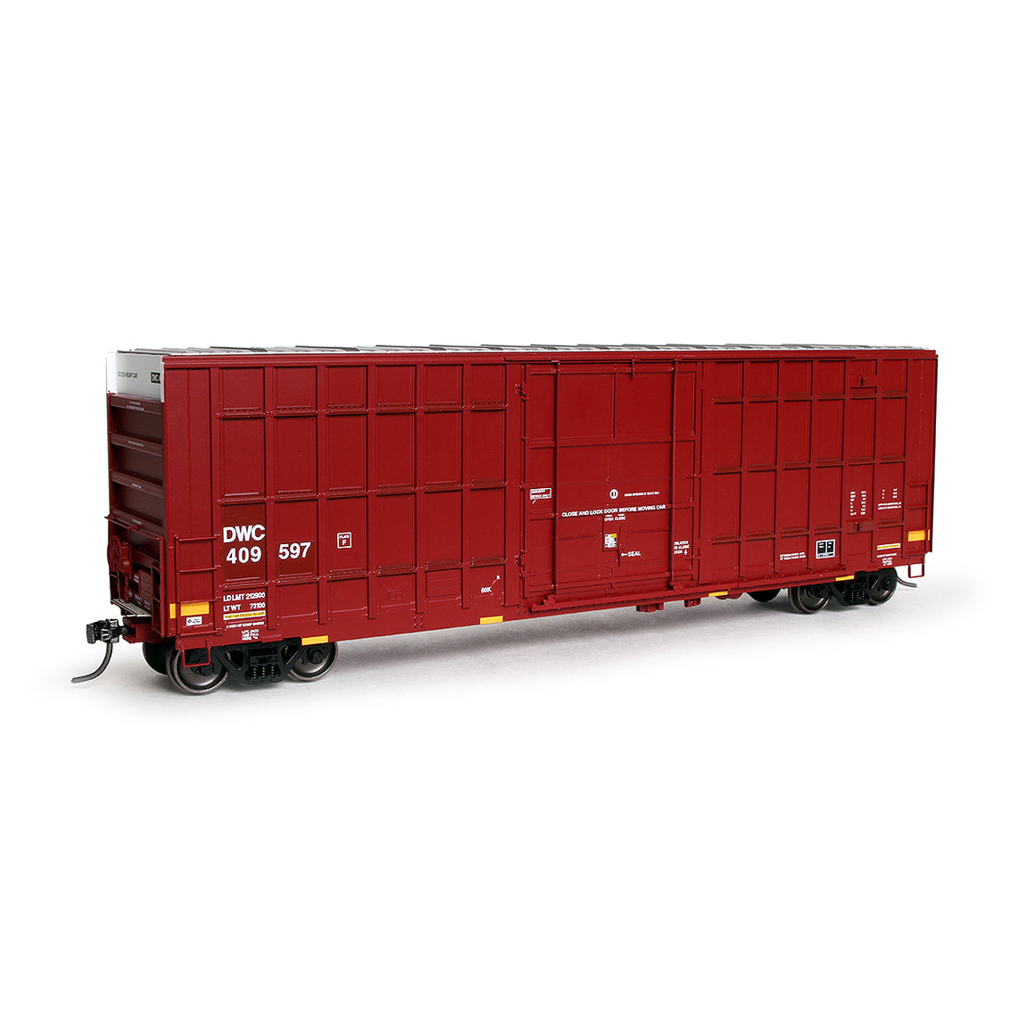 HO Scale: Trinity 6275 Boxcar - Canadian National  'DWC - Nasty Graffiti'