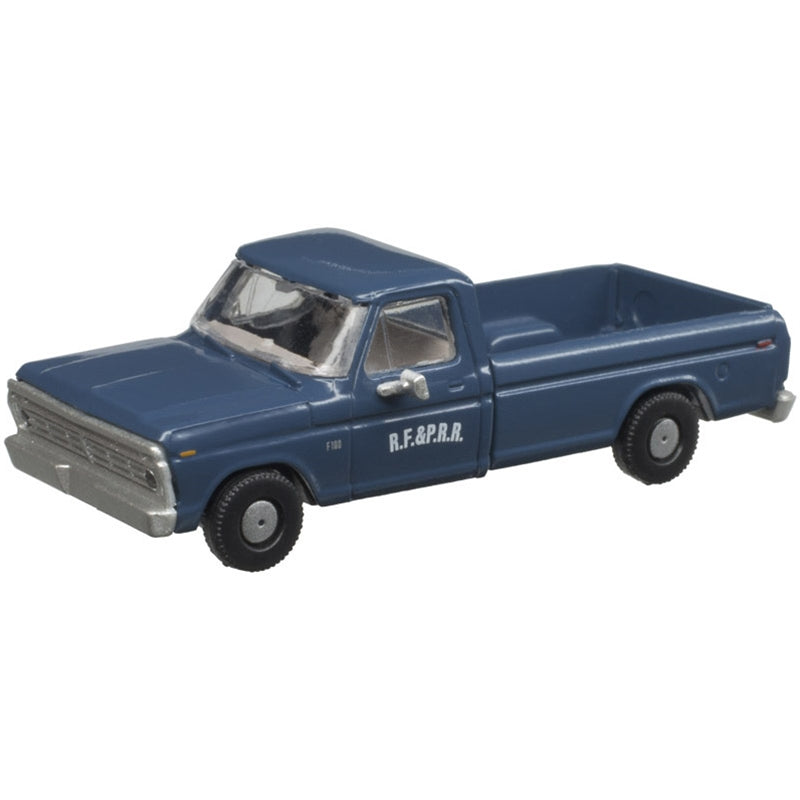 N Scale: 1973 Ford F-100 Pickup Truck - RF&P - 2 Pack