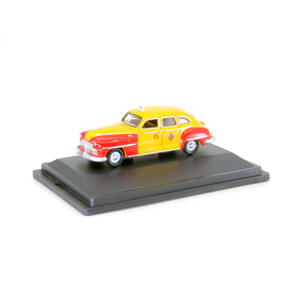 HO Scale: 1946-1948 Desoto Suburban Sedan - San Francisco Taxi