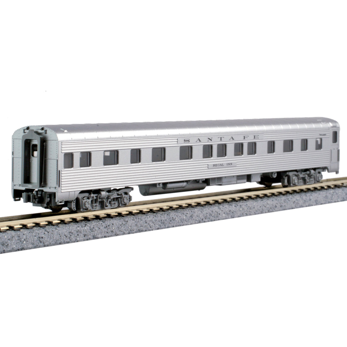 N Scale: Transcontinental 4-4-2 Sleeper - ATSF 'Regal Inn'