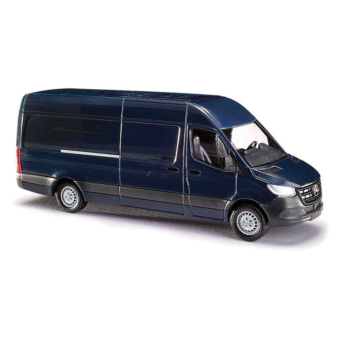 HO Scale: Mercedes Benz Sprinter Van - Blue