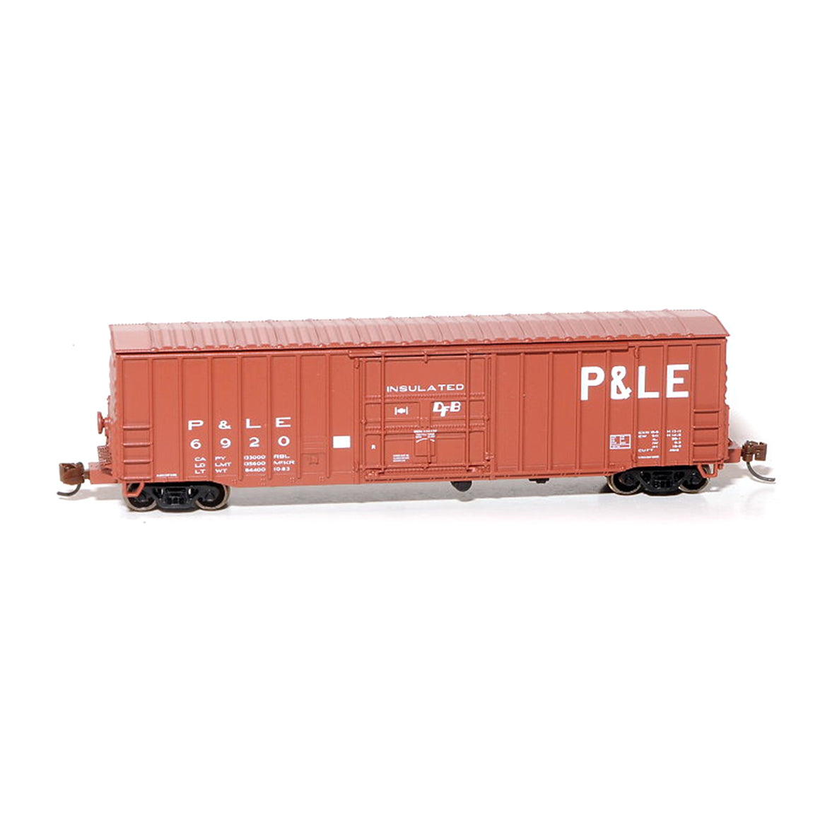 N Scale: Despatch Shops 50' Boxcar - Class X65 - Pittsburg & Lake Erie