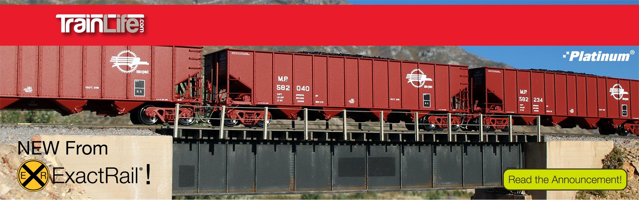 ExactRail Greenville Boxcar