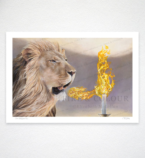 Come with Your Fire - Giclée Print